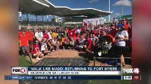 Upcoming events: Walk like MADD [Video]