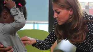 Duchess of Cambridge Surprises Young Mothers [Video]