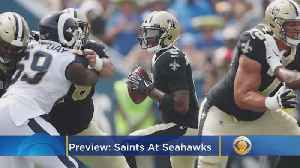 News video: Saints-Seahawks Preview: Teddy Bridgewater Leads New Orleans Into Seattle