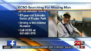 Kern County Sheriff's Office searching for missing elderly man suffering from dementia [Video]