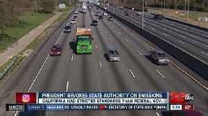 President Donald Trump revokes California's authority on emissions [Video]