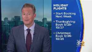 AAA Reveals Best Time To Book Holiday Flights [Video]