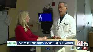 September 19, 2019: Your Health Matters: Doctors concerned about vaping illnesses [Video]