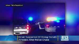 Driver Suspected Of Doing Donuts In Auburn Neighborhood Arrested After Chase [Video]