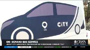 Jersey City Proposes On-Demand Bus Service [Video]