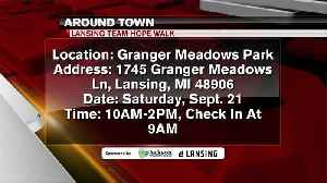 Around Town - Lansing Team Hope Walk - 9/19/19 [Video]