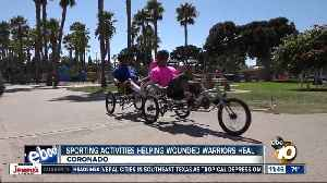 Wounded Warriors turn to new sports to help them heal [Video]