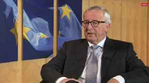 Jean-Claude Juncker says Brexit 'will happen' and he's hopeful of a deal [Video]