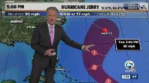 5 p.m. Thursday Hurricane Jerry update [Video]