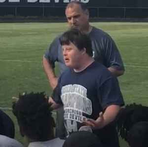 Man with Down syndrome gives inspirational speech to high school football team [Video]