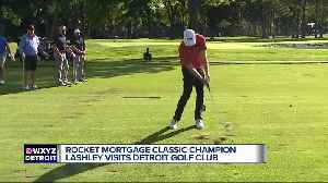 Rocket Mortgage Classic champion Nate Lashley returns to Detroit [Video]