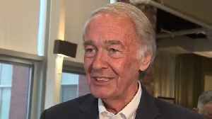 Sen. Markey meets with voters as Rep. Kennedy prepares primary challenge [Video]