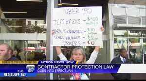 News video: Governor Signs New Labor Law  Impacting Independent Contractors