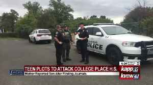 College Place teen threatens attack [Video]