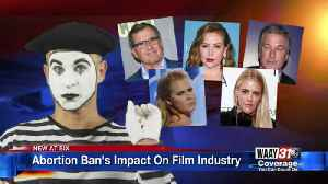 Abortion Ban's Impact On Film Industry [Video]