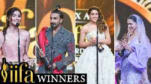 IIFA Awards 2019 FULL Winners List Out | Ranveer Singh, Alia Bhatt, Ranbir Kapoor, Deepika Padukone [Video]