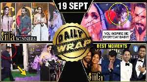 Ranveer Kisses Deepika, Salman Alia REACT On Inshallah, IIFA 2019 Green Carpet | Top 10 News [Video]