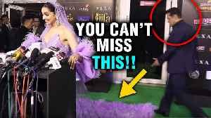 IIFA 2019   Salman Khan's PRICELESS Expression Seeing Deepika Padukone's Dress [Video]
