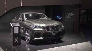 BMW X6 M at the Frankfurt International Motor Show 2019 [Video]