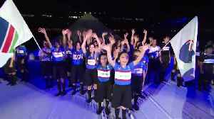 Mount Fuji Introducing Rugby World Cup 2019 teams [Video]