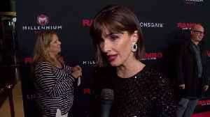 'Rambo: Last Blood' Premiere: Paz Vega [Video]