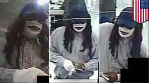 Man dressed as mummy wanted for Friday the 13th bank robbery [Video]