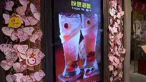 Watch: Eyeball drinks on the menu at Hong Kong restaurant in honour of protesters