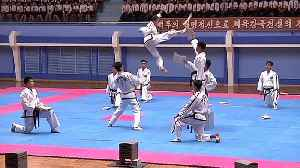 North Korea celebrates founding anniversary of international martial arts committee [Video]