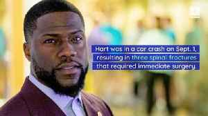 Kevin Hart Is Back Home and Thankful to Be Alive [Video]