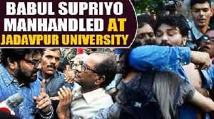 Babul Supriyo manhandled by Jadavpur University Students, slams protesters [Video]