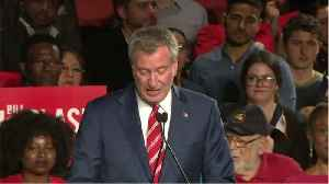 de Blasio Drops Out Of Presidential Race [Video]