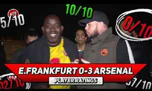 E. Frankfurt 0-3 Arsenal Player Ratings | The Academy Boys Show They're Not Scared! (feat DT) [Video]
