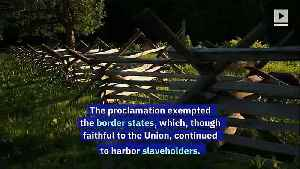 This Day in History: Lincoln Issues the Emancipation Proclamation (Sunday, September 22nd) [Video]