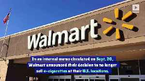 Walmart Announces End to E-Cigarette Sales [Video]