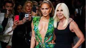Jennifer Lopez: Versace Milan Show In That Dress [Video]