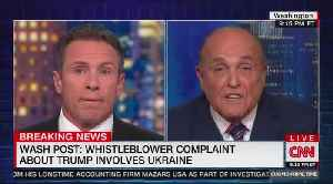 Rudy Giuliani and Chris Cuomo slug it out in heated interview [Video]