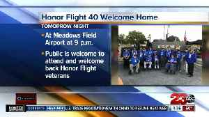 Public invited to welcome Honor Flight veterans home [Video]
