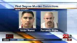 Two men found guilty of killing Brandon Ellington in Bakersfield [Video]