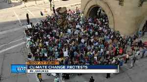 Global Climate Strike brings hundreds of people out to march Milwaukee streets [Video]