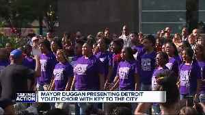 News video: Metro Detroit foundations team up for $1 million endowment for Detroit Youth Choir after 2nd place America's Got Talent finish