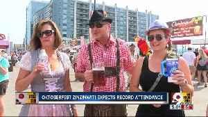 Oktoberfest Zinzinnati expects record attendance [Video]