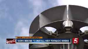Promised upgrades coming to Davidson County tornado sirens [Video]