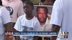 Family of man fatally shot by KCPD officer demands justice [Video]