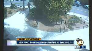 Video shows gunman open fire at Poway synagogue [Video]