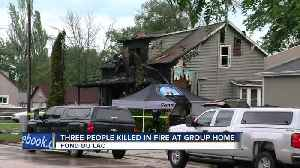 Three people are killed in an early morning fire in Fond du Lac [Video]