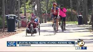 Sports helping Wounded Warriors heal in San Diego [Video]