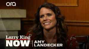 Amy Landecker on the terrifying real-life similarities portrayed on 'The Handmaid's Tale' [Video]