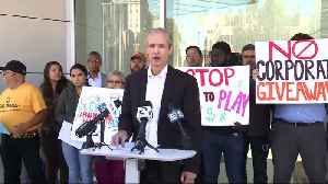 San Jose Unions, Housing Activists Battle Business Leaders Over High-Rise Fee Reduction [Video]