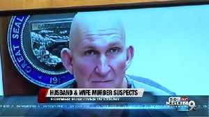 Husband and wife murder suspects plead not guilty [Video]