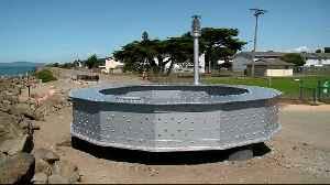 Massive Sculpture Built from Scraps of Old Bay Bridge Span Unveiled [Video]